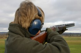 Clay Pigeon Shooting with Morton Clay Targets