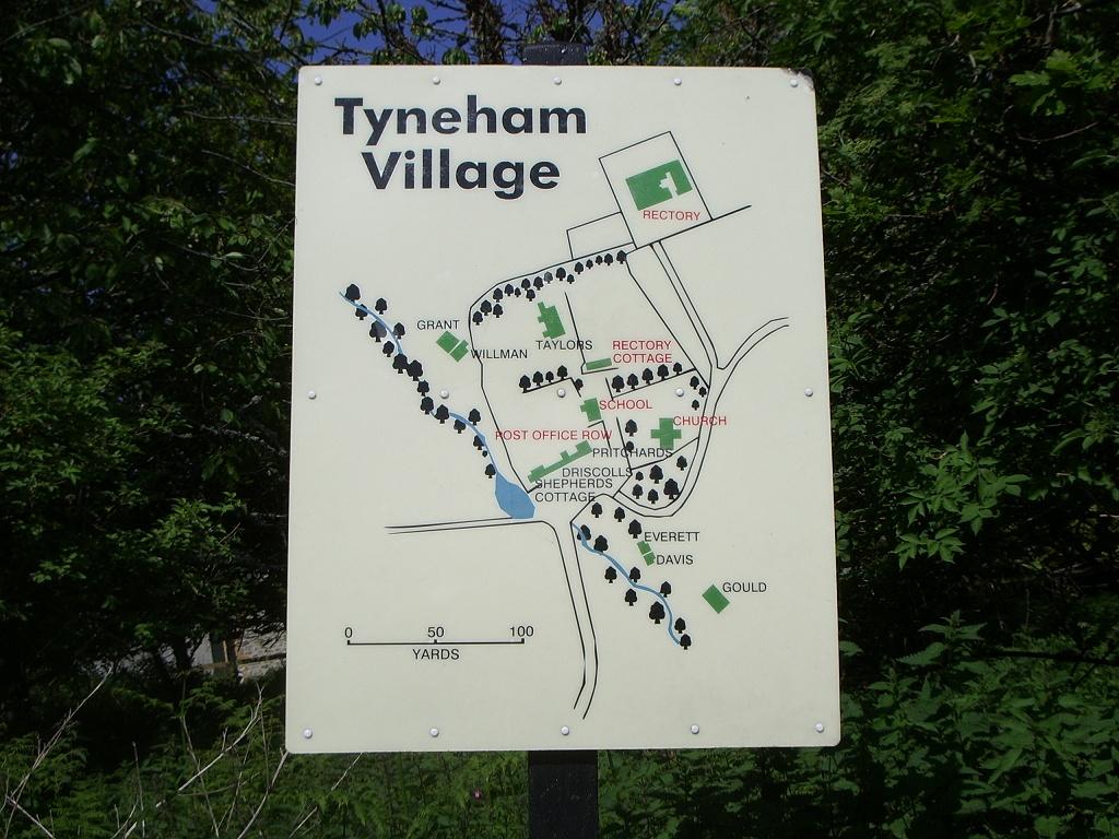 triple trip 3 tyneham village